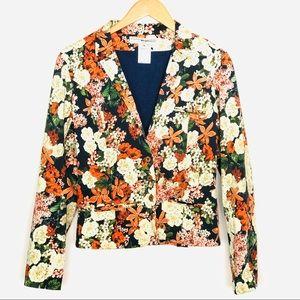 Anthro Valentine Gauthier Floral Blazer Jacket